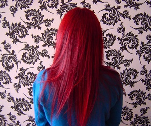 red, hair, and red hair image