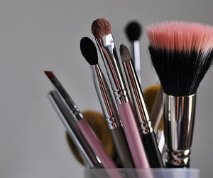 Brushes, makeup, and make up image