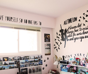 all time low, decoration, and room image