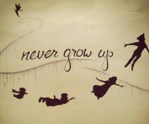 never and peter pan image