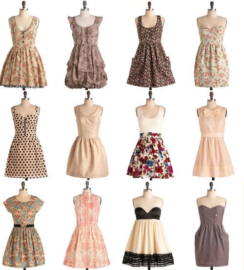 Cute Dress Vintage Dresses Inspiring Picture On Favim