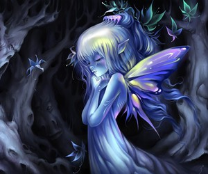 fairy and blue image