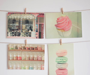 candy, cupcake, and food image