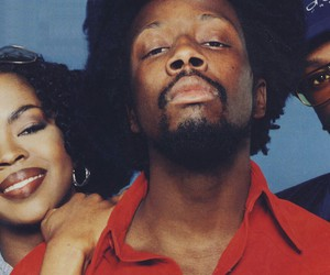 the fugees, lauryn hill, and wyclef jean image