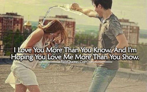 Love Quotes Love Me More Than You Show On We Heart It