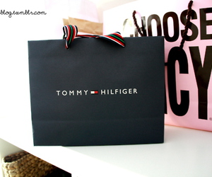 bag, juicy couture, and tommy hilfiger image