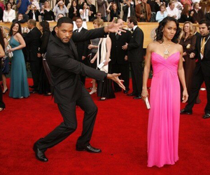will smith, funny, and red carpet image