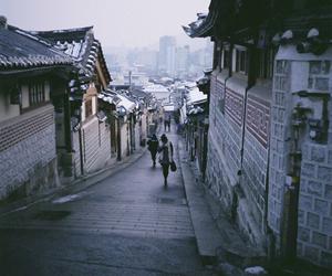street, city, and korea image