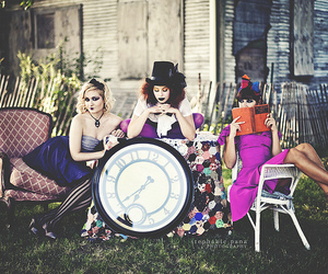 alice in wonderland, editorial, and bright colors image