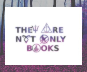 books, harrypotter, and hunger games image