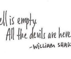 quote, hell, and Devil image