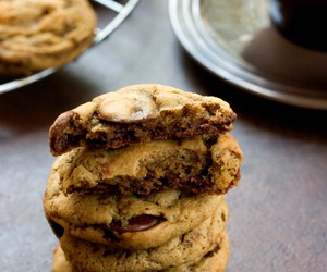 chocolate chip, coffee, and Cookies image