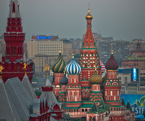 moscow, russia, and travel image
