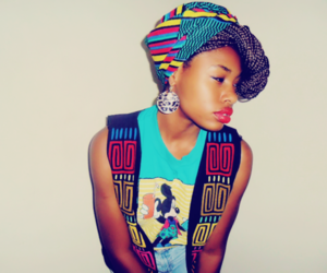 adorable, braids, and colorful image