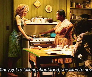 food, minnie, and the help image
