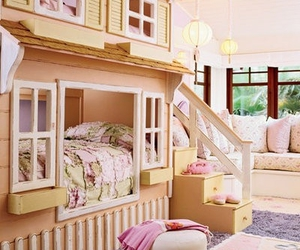 bedroom, girl, and house image