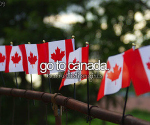 canada and travel image