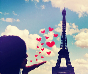 eiffel tower, la tour eiffel, and paris image