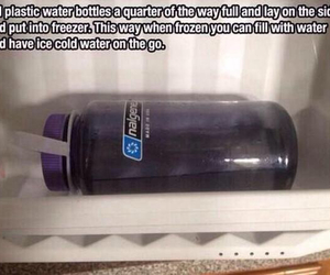 water, ice, and diy image