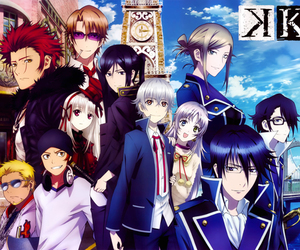 anime, k project, and K image