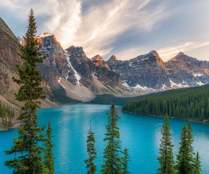 blue and mountains image