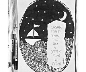 quote, deep, and Dream image