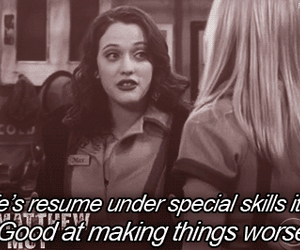 funny and 2 broke girls image