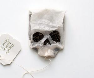 skull and tea image
