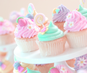 colorful, food, and pink image