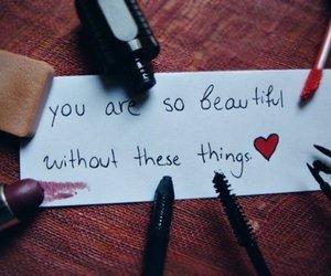 beautiful, makeup, and things image
