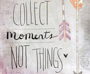 quote, moment, and things image