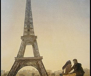 france, the eiffel tower, and journey image