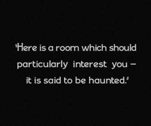 haunted, interest, and room image