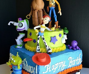 cake and toy story image