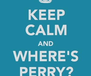 keep calm, perry, and phineas and ferb image