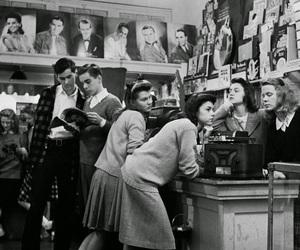 boy, girl, and vintage image