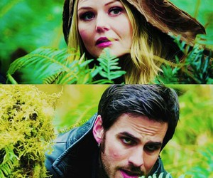 once upon a time, emma swan, and emma and hook image
