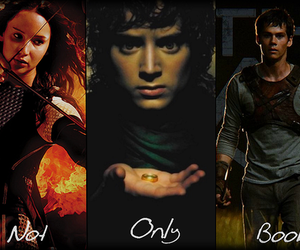 harrypotter, divergent, and percyjackson image