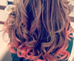 hair, beautiful, and colors image