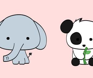 elephant and panda image