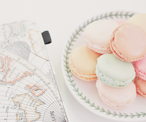 macaroons, cute, and food image