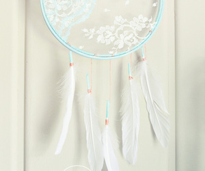 diy, dream catcher, and lace image
