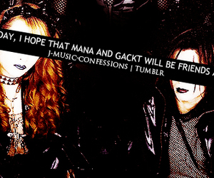 confessions, friendship, and gackt image