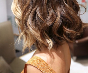 blonde, short hairstyles, and blonde hair image