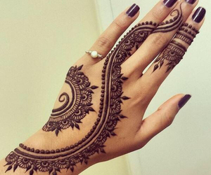 freedom, girlish, and henna image