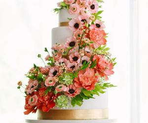 beautiful, cakes, and flowers image