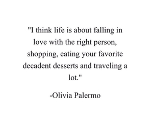 life, olivia, and Palermo image