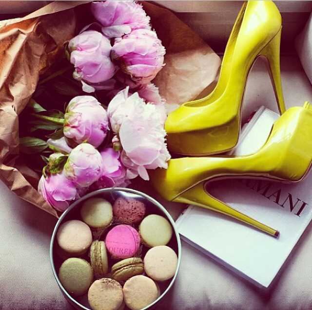 flowers, shoes, and fashion image