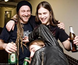 beer, metalhead, and chrigel image