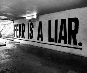 black, liar, and fear image